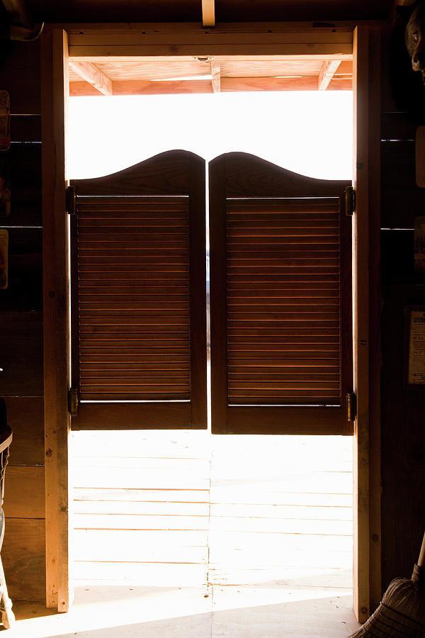 What was the purpose of saloon doors core77 for Interior swinging kitchen doors
