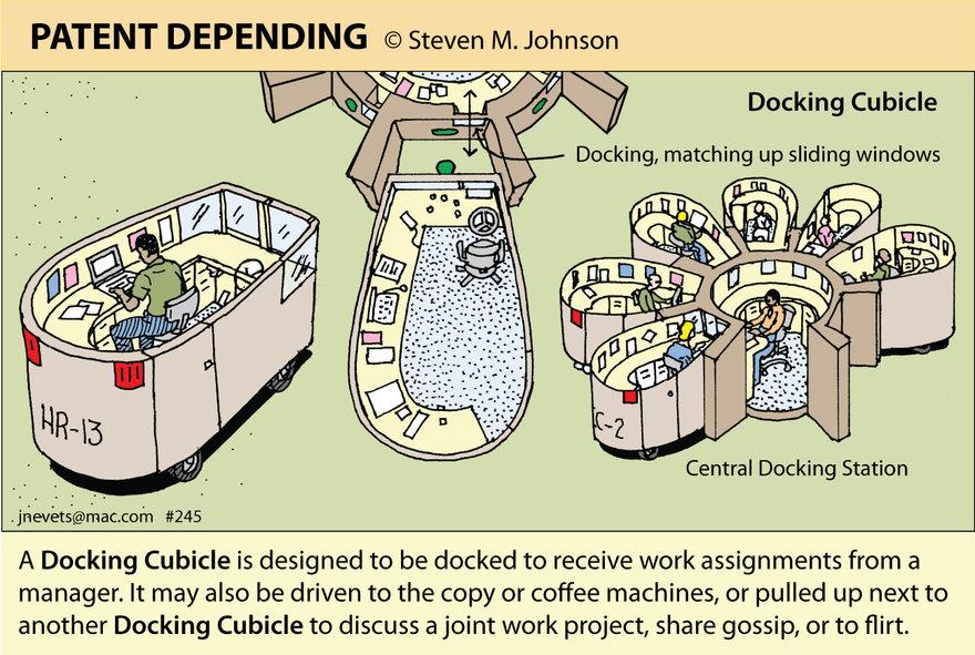 Steven M. Johnson s Bizarre Invention #245: The Docking Cubicle