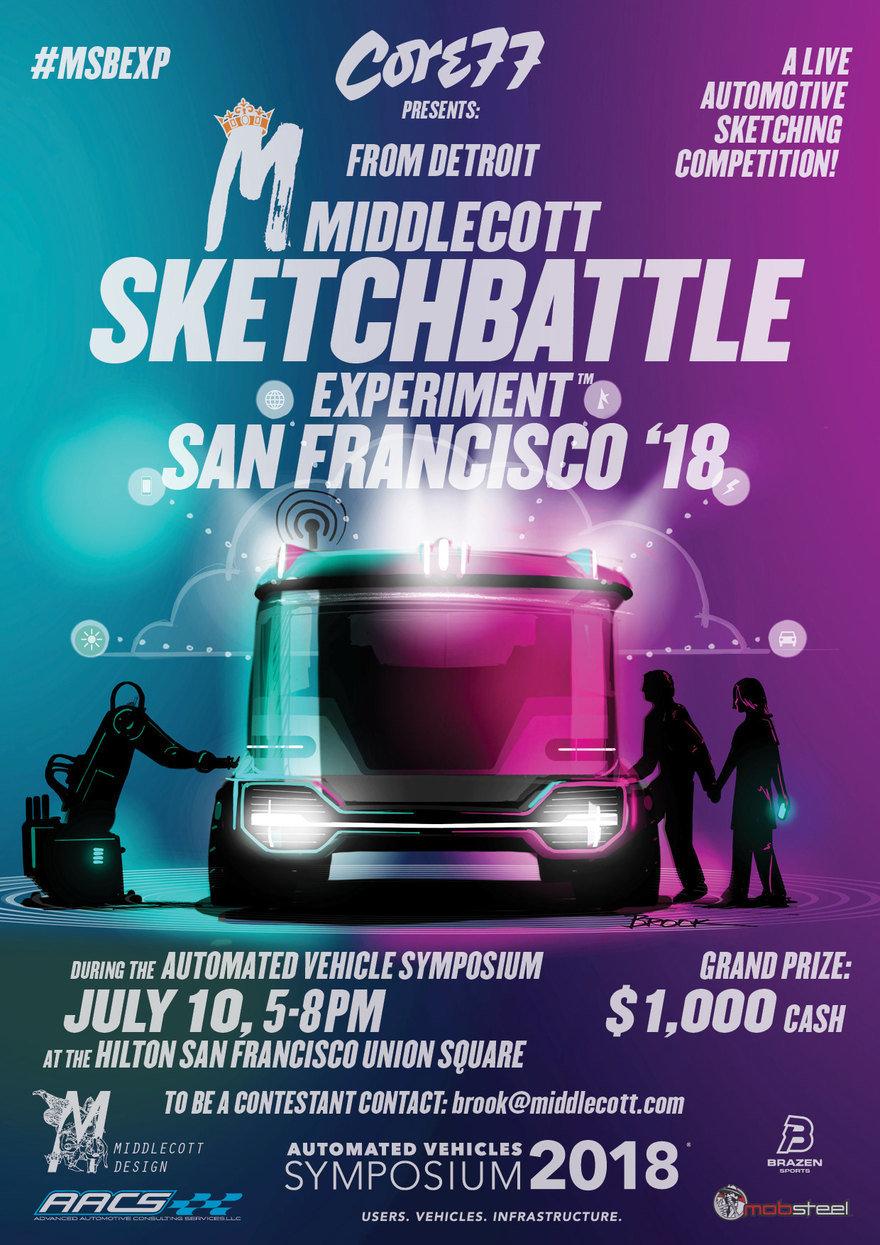 The Middlecott Sketchbattle Experiment™ Returns Tomorrow Night in San Francisco