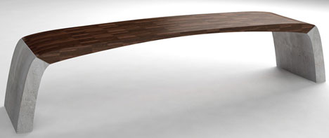 Beautiful bridge-inspired bench breaks the bank - Core77