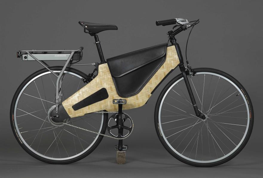 Bamboost Composite Bamboo E Bike Core77