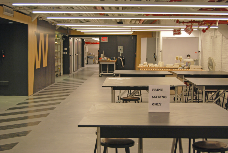 exclusive preview of parsons' new making center - a collaborative