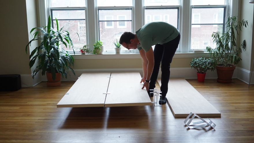 The Floyd Bed A Bed Frame Built For City Living Core77