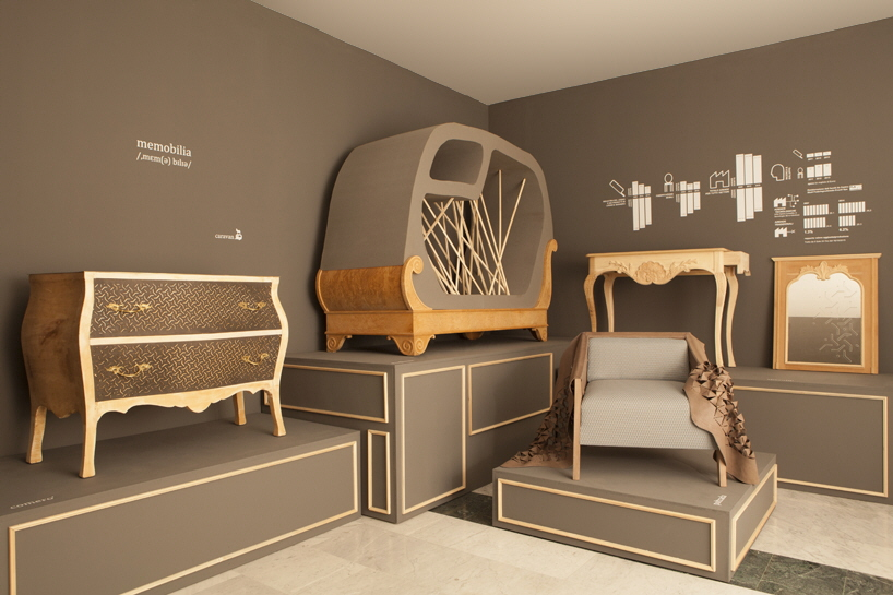 Memobilia Unfinished Classical Furniture With Digitally