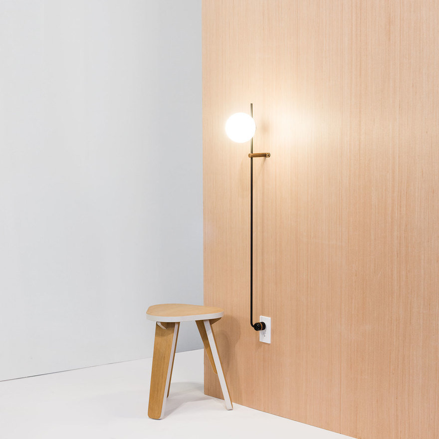 Lynea a streamlined plug in lamp that eliminates clutter core77 lynea was created to function as hardwired lighting without the hard wiring we designed lynea to look seamless to save space and add an architectural greentooth Images