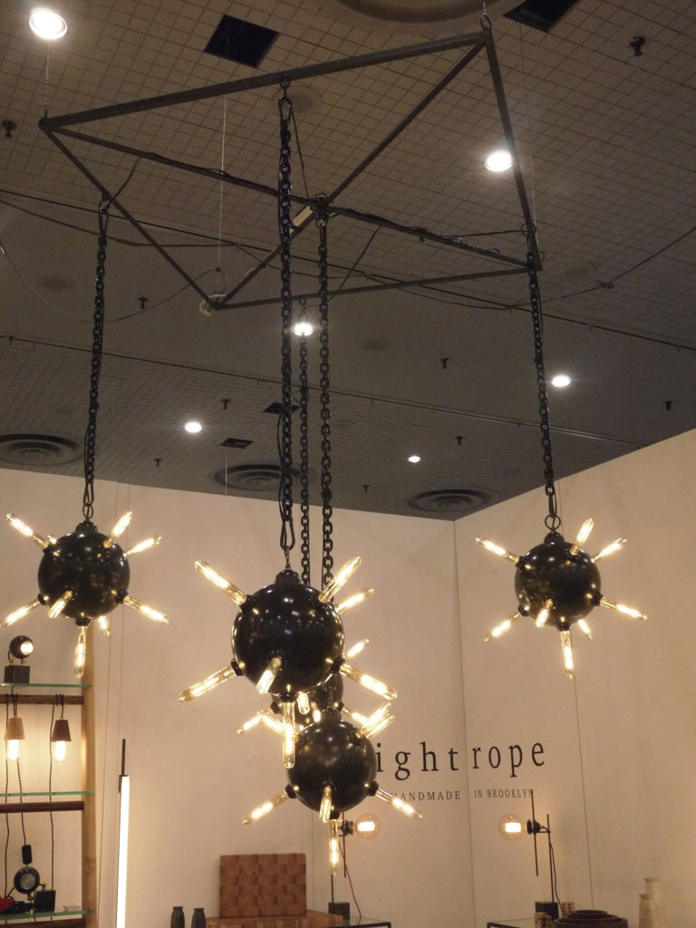 glam lighting. a return to glam and embracing new lighting typologies at icff 2016