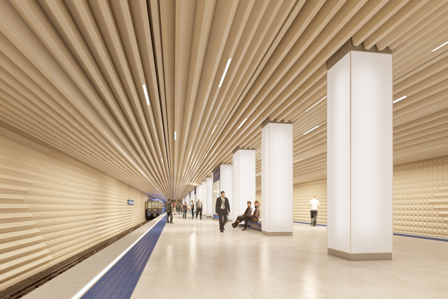 Moscow Metro Station Proposal Core77
