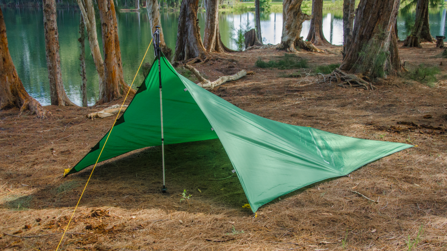 Tarp Camping Shelter : Apex camping shelter by go outfitters core
