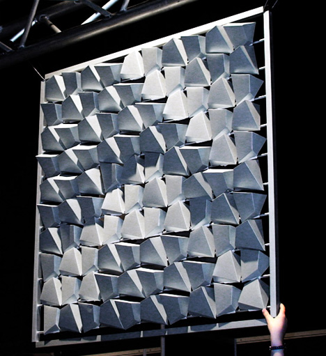 Flare kinetic ambient reflection membrane huh just for Refection facade