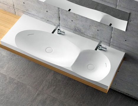 Designer Sinks : alex vitet design is doing some very cool things with sinks and they ...