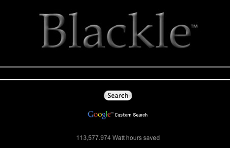 Use google blackle