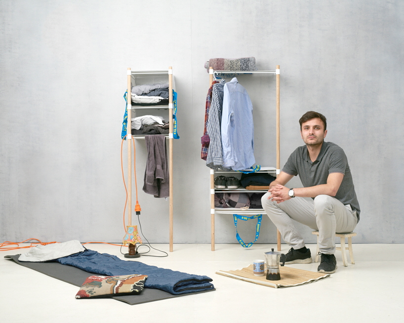 OUT OF THE BAG: Nomadic Storage Solutions Utilizing ...