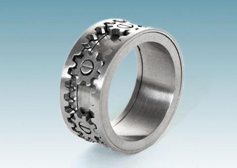Kinetic Gear Rings