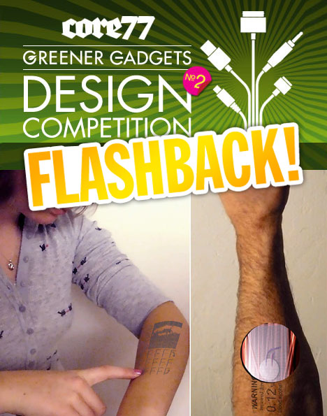 Greener Gadgets Design Competition Flashback: Digital Tattoo Interface