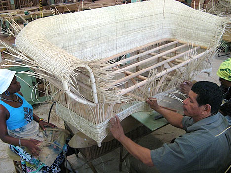 Guyana: Liana Cane Furniture  a factory promoting Micro-Economic  Development   Guyanese Online