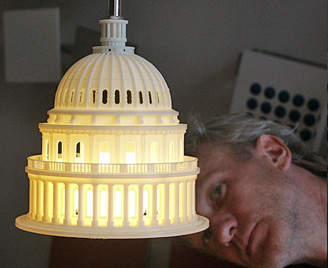 Klaus Rosburg of Sonic Design has created the Capitol Light, a miniature  version of the