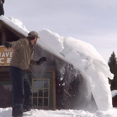 A Tool That Needs Designing: Something To Get Snow Off Of Roofs   Core77