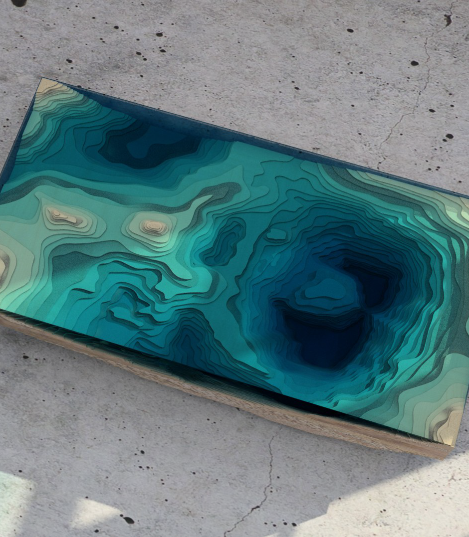 Another Table Design Inspired By Natural Bodies Of Water   Core77