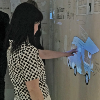 How dalziel and pow realized this awesome interactive touch wall core77
