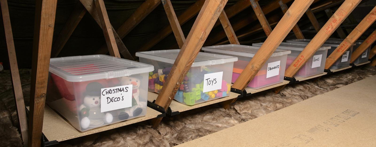 Diy Attic Storage Solutions Diy Do It Your Self