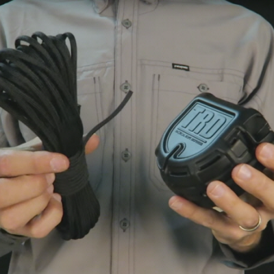 Easily Dispense Rope During Critical Moments with TRD