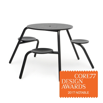 core77 table virus by dirk wynants design works core77 design awards