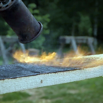 A Chemical-Free Way to Preserve, and Beautify, Wood: Set It on Fire