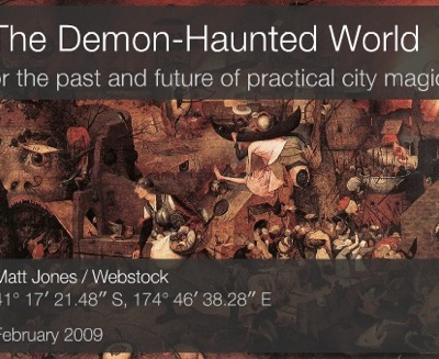 the demon haunted world In a demon-haunted world by grant jacobs • 22/12/2016 • 22 20 years ago  today a brilliant science communicator died over the last few months i've been.