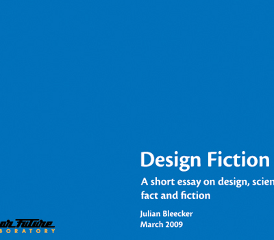fiction as fact thesis