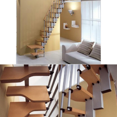 Space saving staircase core77 for Misterstep mini plus