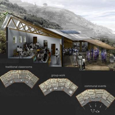 Adaptable Designs On A Hillside Architecture
