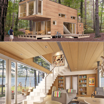 Meka luxury pre fab homes without the luxury price tag for Pre built shipping container homes