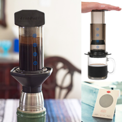 Core77 Ultimate Gift Guide 2011 Featured Item: Aerobie Aeropress Coffee & Espresso Maker - Core77