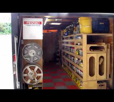 Ron Paulk S Mobile Super Workshop Part 2 Box Truck And