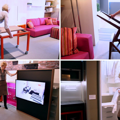 Resource Furniture and Clei\'s New Transforming Micro-Apartment ...