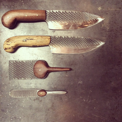 Chelsea Miller 39 S Unusual Kitchen Knife Designs Core77