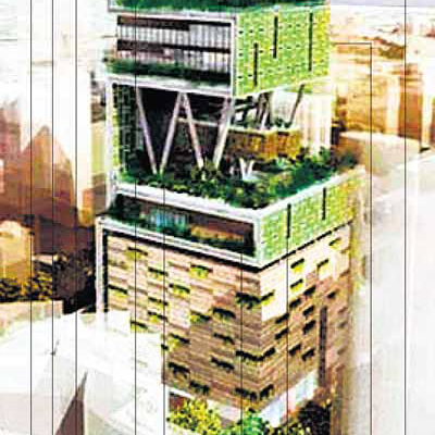 India 39 S Richest Man Builds 60 Story Home Core77