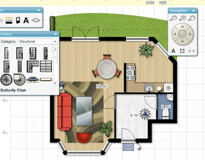 Floor planner interactive floorplan tool core77 for Floorplanner software
