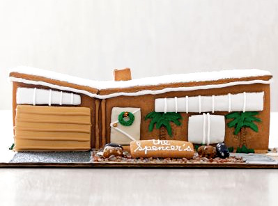 Mid-century gingerbread house--too modern to eat - Core77