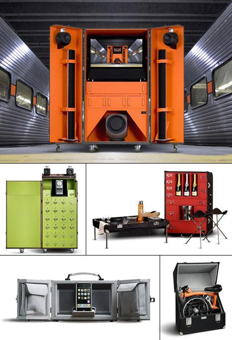 Foldaway furniture part 2 Pinel et Pinel  Core77