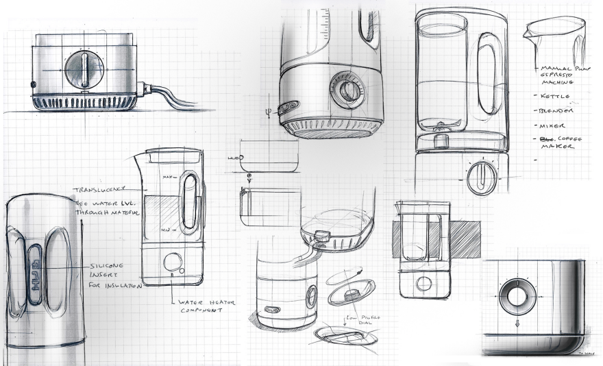 Kitchen Appliance Drawings ~ Hub all your kitchen appliances in one device core