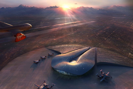New Mexico Spaceport Authority Building by URS Corporation and ...