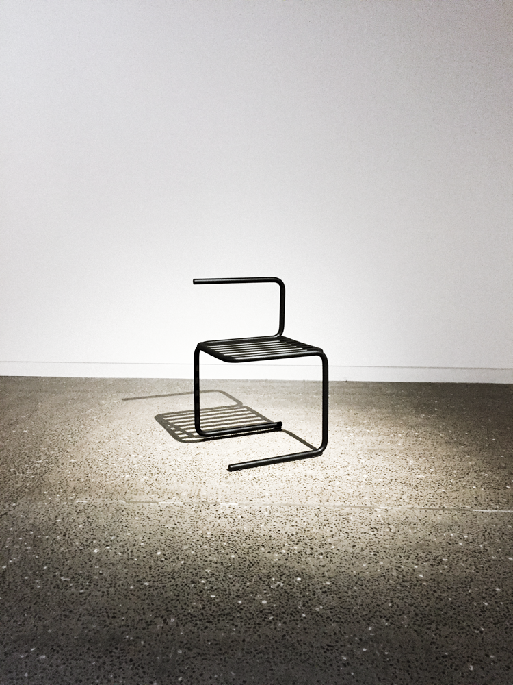 Reader submitted xuxu chair explores less is more in for Designer chairs for less