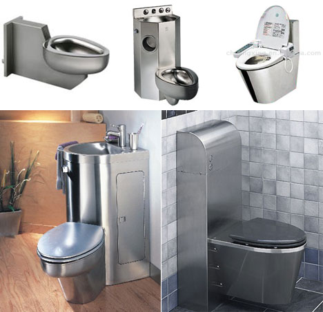 Stainless Steel Toilets From The Jailhouse To Your House