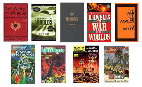 the war of the worlds book cover. War of the Worlds: One story,