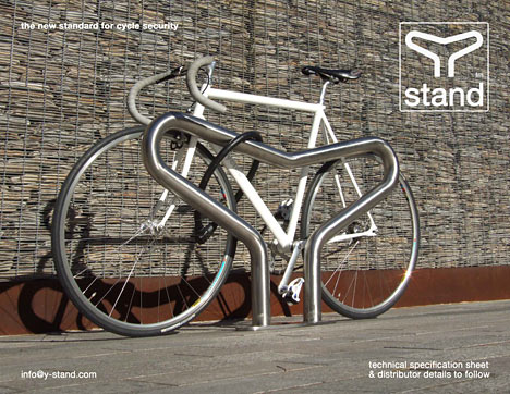Y Stand Bike Rack Goes Into Production Core77
