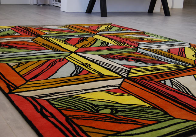 Wood Rug by Richard Woods. Wood Rug by Richard Woods