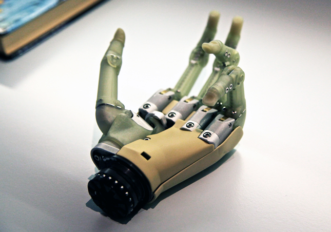 The bionic hand: story of a nursing student!