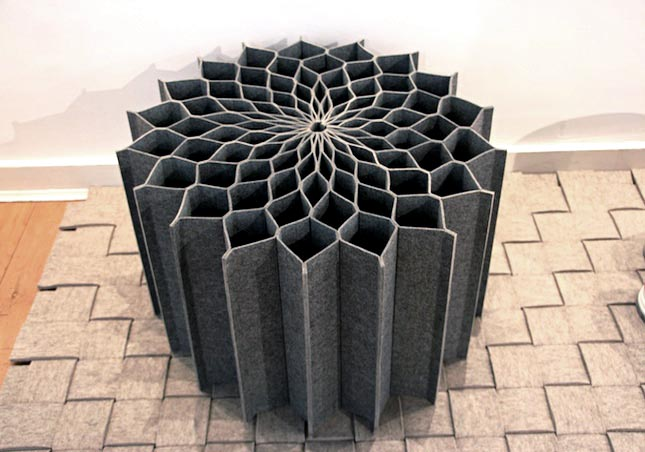Superb Brit Leissler Dahlia A Combination Of A Seat Cushion And A Stool, The User  Can Easily Change The Seat Into Cushion For The Floor By Turning It  Sideways And ... Good Looking