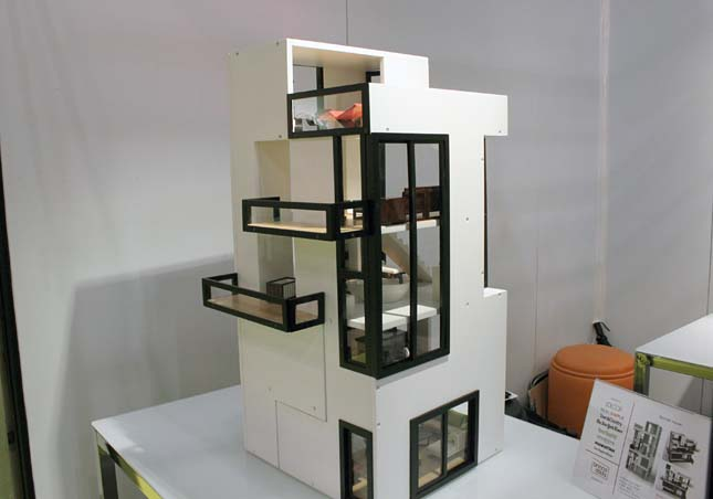 glen jackson taylor bennett doll house the ultimate doll house for your hipster kids bennett house by brinca dada is heavily influenced by the de stijl brinca dada bennett house modern dolls